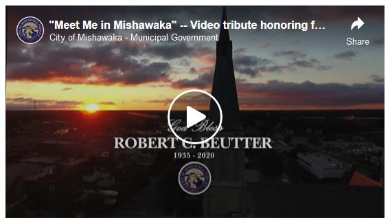 Link to Mayor Robert Beutter tribute video on Youtube