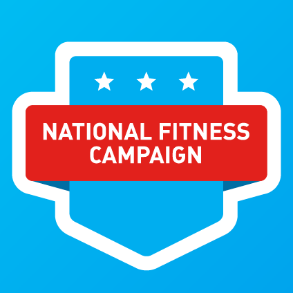 Logo for National Fitness Campaign